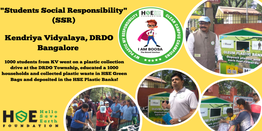Hello save Earth Foundation - HSE